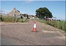 NO4116 : Farm at West Dron, Dairsie by Douglas Nelson