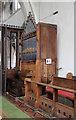 TL3042 : St Catherine, Litlington - Organ by John Salmon