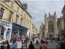 ST7564 : Bath - Abbey Churchyard by Colin Park