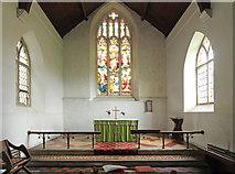 TL6153 : St Mary, Weston Colville - Sanctuary by John Salmon