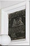 TL6153 : St Mary, Weston Colville - Wall monument by John Salmon