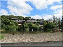 SO0660 : Powys County Hall by Bill Nicholls