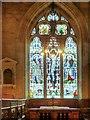 SK3140 : East Window, All Saints' Church, Kedleston by David Dixon