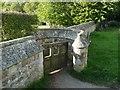 TQ5952 : Footpath gate out of the churchyard, Shipbourne by Humphrey Bolton