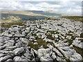 SD7274 : Limestone Pavement below Green Edge by John H Darch