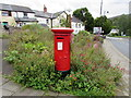 SO2508 : King George VI pillarbox in Blaenavon by Jaggery