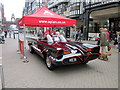 SJ4066 : The Batmobile in Chester by Jeff Buck