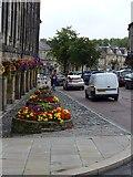 NU1813 : Flower displays in Market Street, Alnwick by Gordon Brown