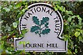 TM0023 : National Trust Sign by Keith Evans
