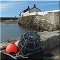 SY3391 : Breakwater, the Cobb, Lyme Regis by Robin Drayton