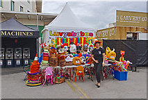 SJ8195 : Colourful Stall by Anthony O'Neil