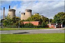 SE4824 : Ferrybridge Power Station by David Martin