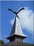 SO0660 : Kite on the Spire by Bill Nicholls