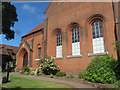 TL1507 : Path to the Front of the Museum of St Albans by Chris Reynolds