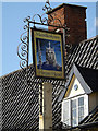 TM1065 : The Kings Head Public House sign by Adrian Cable
