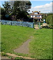 SZ5983 : Cliff Lodge guesthouse, Lake, Isle of Wight by Jaggery