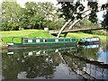 TQ1281 : Muggle Wump, narrowboat on Paddington Branch canal by David Hawgood
