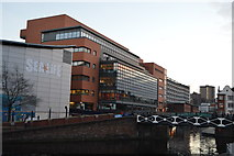 SP0586 : By the canal in Birmingham by N Chadwick