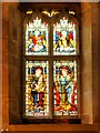 SK1532 : Stained Glass Window, St Cecilia and St Margaret, All Saints' Church by David Dixon