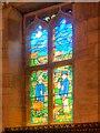 SK1532 : All Saints' Church, Evacuee Window by David Dixon