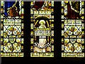 SK1532 : Stained Glass Window Detail, All Saints' Church by David Dixon