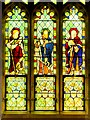 SK1532 : Stained Glass Window, St Timothy, St Paul and St Barnabas, All Saints' Church by David Dixon