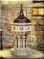 SK1532 : Parish Church of All Saints, The Font by David Dixon