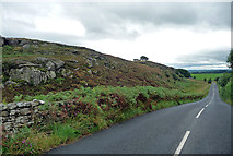 NZ0488 : Country road near Rothley by Stephen Richards
