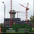 TQ3278 : Apartments under construction, Elephant Park, Walworth, London by Robin Stott