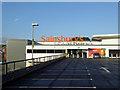 SZ4989 : Sainsbury's Newport (IOW) by Steve  Fareham