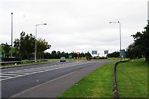 G9478 : R267 road approaching Drumlonagher Roundabout, Donegal Town by P L Chadwick