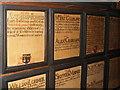NJ9406 : Mortification boards, Town House, Aberdeen by Bill Harrison