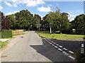 TM1168 : Wickham Road, Thwaite by Adrian Cable