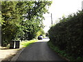 TM1168 : Church Lane, Thwaite by Adrian Cable