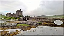 NG8825 : Eilean Donan Castle by Chris Morgan