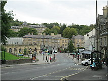 SK0573 : The Quadrant, Buxton by David Weston