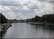 SK5838 : View from Trent Bridge by John Sutton