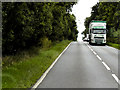 TF7710 : Volvo FH (KR57 LUZ) on A47 near Narborough by David Dixon