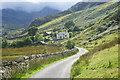 SH6361 : Road approaching Pentre by Bill Boaden