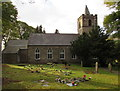 SO2508 : St Peter's church and churchyard, Blaenavon by Jaggery