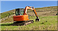 SD7149 : Equipment associated with building sites is now common on farms by Ian Greig