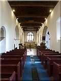 TQ1605 : Sompting - St Mary's - Nave by Rob Farrow