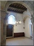 TQ1605 : Sompting - St Mary's - interior base of tower by Rob Farrow