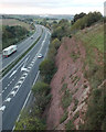 SX9288 : A30 northwest of M5 Junction 31 by Robin Stott