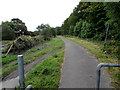SO2508 : Combined footpath and cycleway, Blaenavon by Jaggery