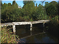 SD4391 : Footbridge over the Gilpin at Dodds Howe, Crosthwaite by Karl and Ali