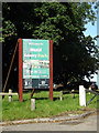 TQ5793 : Weald Country Park sign by Adrian Cable