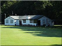 TQ5794 : Brook Weald Cricket Club Pavilion, South Weald by Geographer