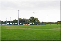 TL7003 : Looking to sports ground in Chelmer Park, Chelmsford by Roger Jones