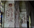 SW6128 : Breage: St. Breaca's Church: Mid c15th wall paintings by Michael Garlick